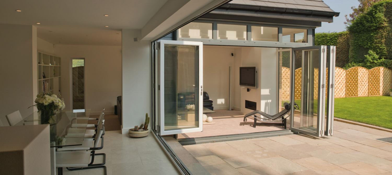 aluminium bi-fold doors Saint Austell