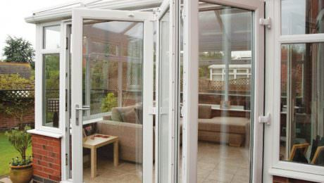 uPVC bi-fold doors Cornwall